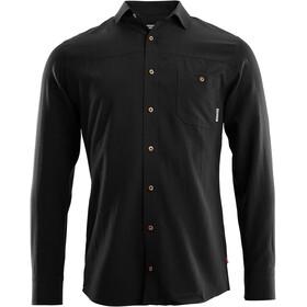 Aclima Woven Wool Shirt Men jet black